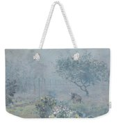 Foggy Morning, Voisins, 1874 Weekender Tote Bag
