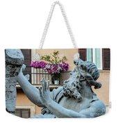 Fontana Dei Quattro Fiumi Weekender Tote Bag