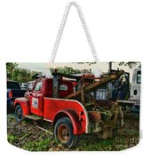 Ford F4 Tow The Truck Business End Weekender Tote Bag