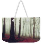 Forest In December Mist Weekender Tote Bag