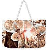 Forest Mushrooms Weekender Tote Bag