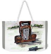 Former Bootlegger Weekender Tote Bag by Clyde J Kell