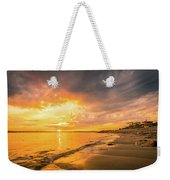 Fort Foster Sunset Watchers Club Weekender Tote Bag by Jeff Sinon