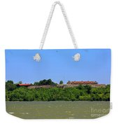 Fort Ticonderoga, From Lake Champlain. Weekender Tote Bag