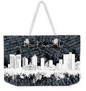 Fort Worth Skyline Music Sheet 2 Weekender Tote Bag