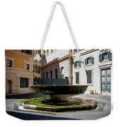 Fountain Square St. Eustace Weekender Tote Bag