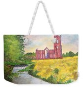Fountains Abbey In Yorkshire Through Japanese Eyes Weekender Tote Bag