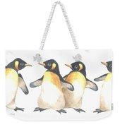 Four Penguins Weekender Tote Bag