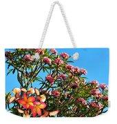 Frangipani Tree Weekender Tote Bag