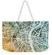 Frankfurt Germany City Map Weekender Tote Bag