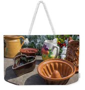 French Pottery Weekender Tote Bag