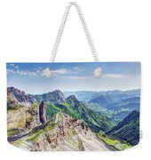 French Village In The Pyrenees Weekender Tote Bag