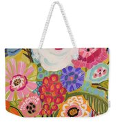 Fresh Flowers In Vase II    Weekender Tote Bag