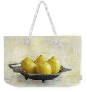 Fresh Lemons Weekender Tote Bag