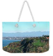 From Pv To La Weekender Tote Bag by Michael Hope