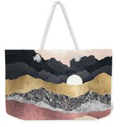 Frost Reflection Weekender Tote Bag