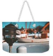 Frozen Seaport Weekender Tote Bag