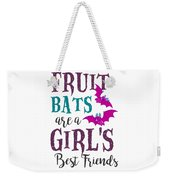 Fruit Bat Conservation Halloween Flying Fox Women Light Weekender Tote Bag