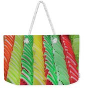 Fruit Jelly Candy Weekender Tote Bag