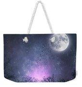 Full Moon Night Magic Weekender Tote Bag