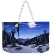 Full Moon Rising Weekender Tote Bag
