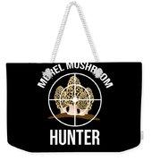 Funny Mushroom Morel Mushroom Hunter Gift Weekender Tote Bag