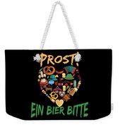 Funny Oktoberfest Prost Ein Bier Bitte Germany Weekender Tote Bag