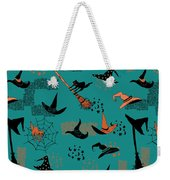 Funny Witch Hats Art Weekender Tote Bag