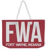 Fwa Fort Wayne Luggage Tag II Weekender Tote Bag
