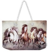 Galloping Horses Magnificent Seven Weekender Tote Bag