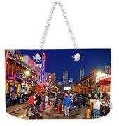 Game Night On Lansdowne Street 2018 World Series Red Sox Boston Ma 2 Weekender Tote Bag