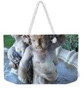 Garden Fountain Weekender Tote Bag