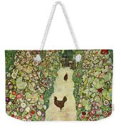 Garden With Chickens, 1916 Weekender Tote Bag
