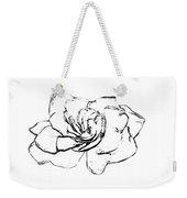 Gardenia Paint My Sketch Weekender Tote Bag