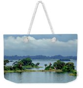 Gatun Lake Islands Weekender Tote Bag