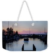 Calm Sunset Finish Weekender Tote Bag