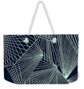 Geometric Pattern 1-colour-6 Weekender Tote Bag