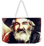 George Gabby Hayes, Vintage Actor Weekender Tote Bag