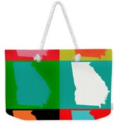 Georgia Pop Art Weekender Tote Bag
