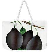 German Prunes Fruit Vintage Art Weekender Tote Bag