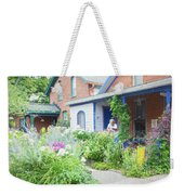 Getting Ready For Buffalo's Garden Walk 2019 Weekender Tote Bag