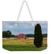Red Barn On Sherfy Farm Gettysburg Weekender Tote Bag