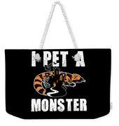 Gila Monster Halloween Venomous Lizard Pet Owner Dark Weekender Tote Bag