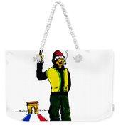 Gilets Jaunes Et Btc Weekender Tote Bag