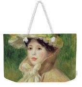 Girl With Yellow Cape, 1901 Weekender Tote Bag