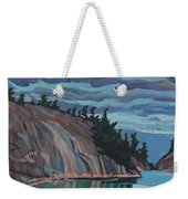 Gitchi-gami Cove Cliff Weekender Tote Bag