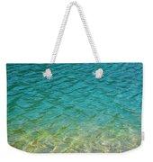 Glacial Depths Weekender Tote Bag