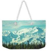 Glacier View Weekender Tote Bag
