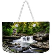Glade Creek Grist Mill Waterfall Weekender Tote Bag