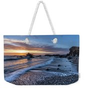 Glass Beach Sunset Weekender Tote Bag